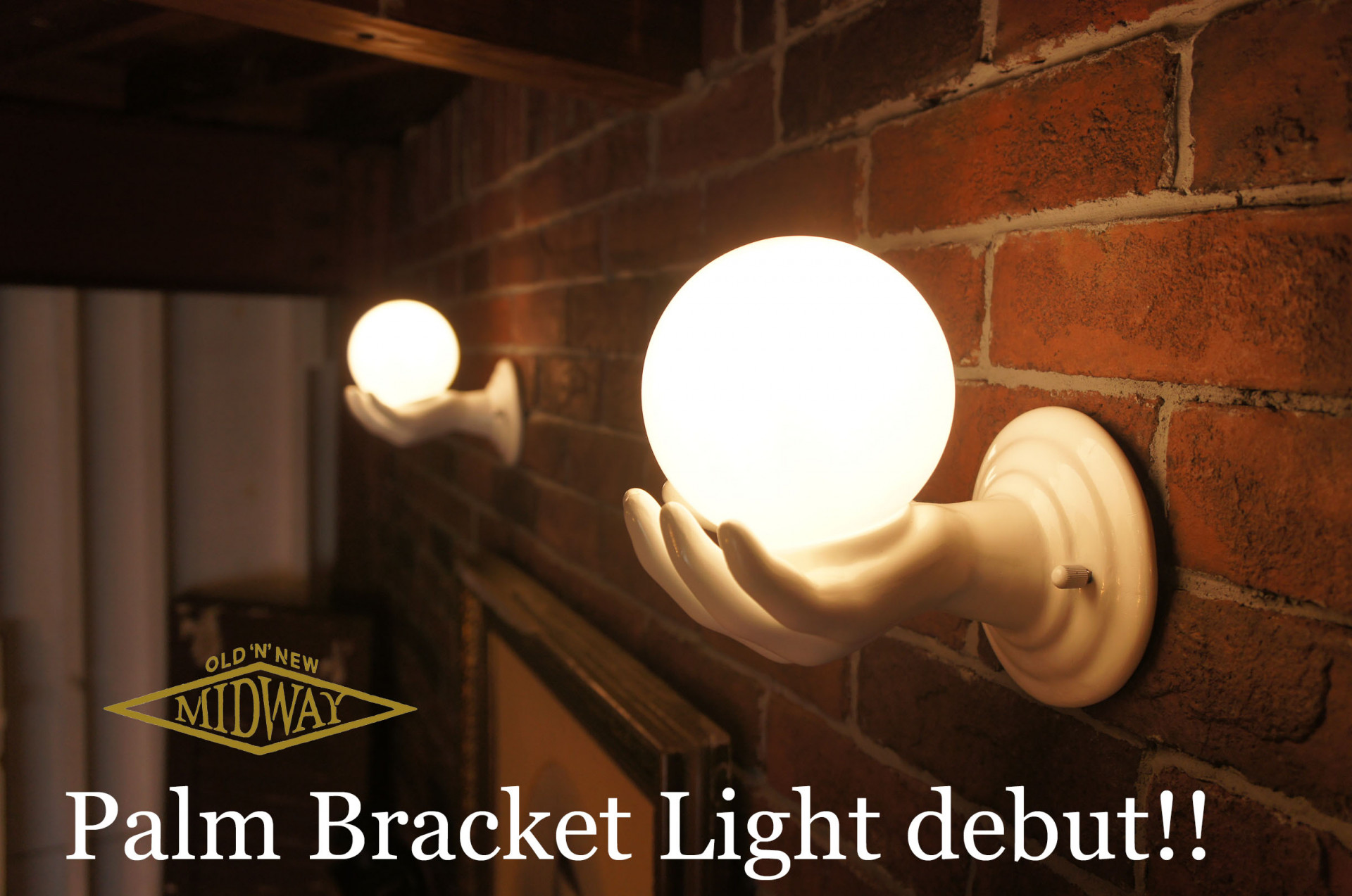 Palm Bracket Light debut!!